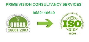 Iso 45001 Certification Services In Delhi, India