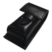 Shaving Brush Leather Case