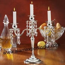 Crystal Drop Candelabra