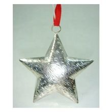 Metal Christmas Hanging Star Ornament