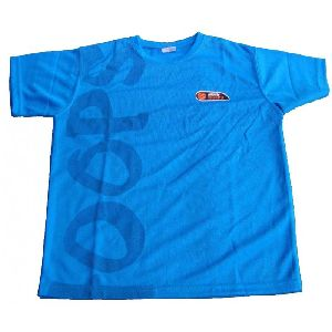 Basketball Round Neck Kids Cool Dry T-shirt Polyester