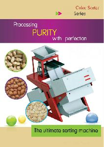 Peanut Roasting Color Sorter Machine