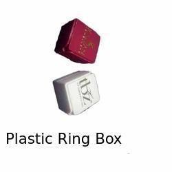 Plastic Ring Box