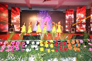 School Functions Flower Decoration