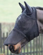 Fly Mask With Long Nose And Ears