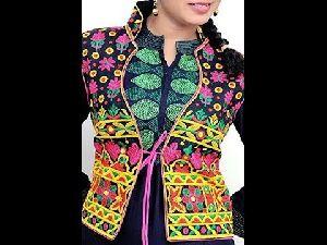 Ladies Embroidered Koti