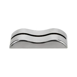 Stainless Steel Wavy Card Holder