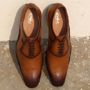 Welted Golden Sand Brown Formal Shoes