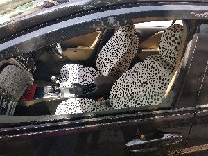 Printed Car Seat Covers