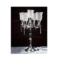 Crystal Beaded Candelabra