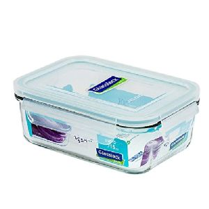 Rectangular Glass Food Storage Container