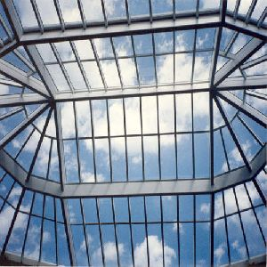 Glass Roof Structure