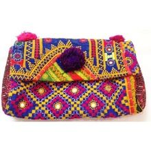 Antique Textiles Patchwork Fabric Banjara Clutch Bags