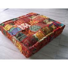Bohemian Indian Pouf Ottoman