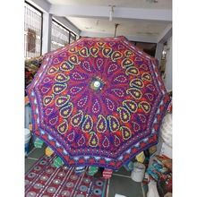 Cotton Fabric Handcrafted sun Umbrellas