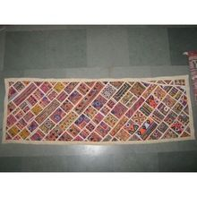 Embrioderies mirrorwork patchwork decorative tapestry