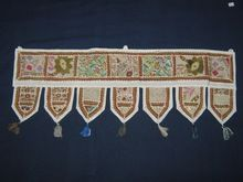 Mirror Embroidery Work Door Hanging