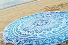 Round Tapestry Hippie Yoga Mat