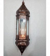 Moroccan Candle Lamp