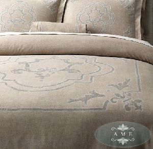 Italian Baroque Medallion Duvet Cover