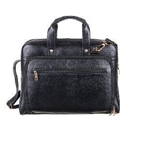 Leather Trendy Laptop Bag
