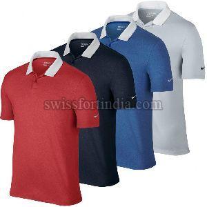 Mens Customized Collar T-shirt