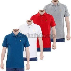 Mens Plain Collar T-shirts