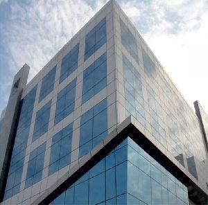 Semi Unitized Aluminum Structural Glazing