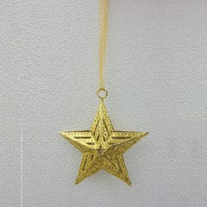 Decorative Metal Star Unique Christmas Ornaments