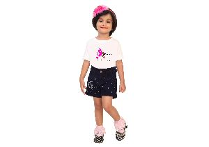 Rosaline Denims For Kids - Shorts / Capris / Jeans