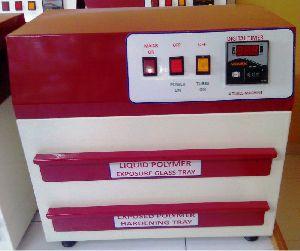 Liquid Polymer Stamp Making Machine
