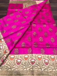 Latest Collection Of Banaras Handloom Pure Chiniya Silk Sarees
