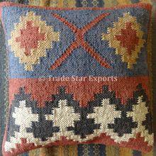 Hand Woven Kilim Cushion Cover
