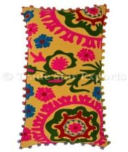 Indian Embroidered Suzani Pillows