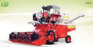 Greengold Deluxe Tractor Mounted Combine Harvester