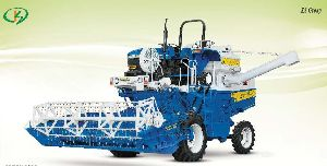 Greengold Semi Automatic Tractor Mounted Combine Harvester