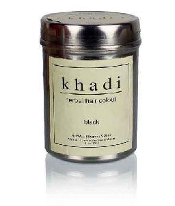 Khadi Natural Herbal Black Henna Colour