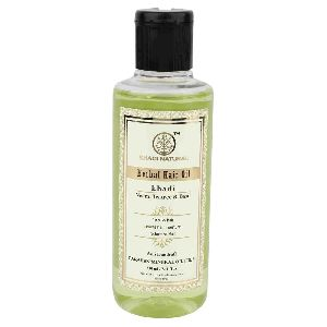 KHADI NATURAL HERBAL NEEM TEATREE and BASIL HAIR OIL