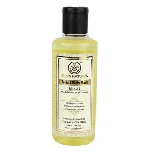 KHADI NATURAL HERBAL SANDAL TURMERIC BODY WASH