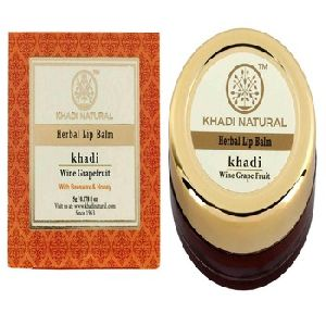 Khadi Natural Herbal Wine Grapefruit Lip Balm