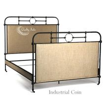 Iron Industrial Rustic Queen Bed Frame