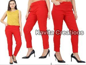 Red Ladies Lumlum  Pant