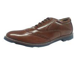 Men Brown Formal Derby Shoes
