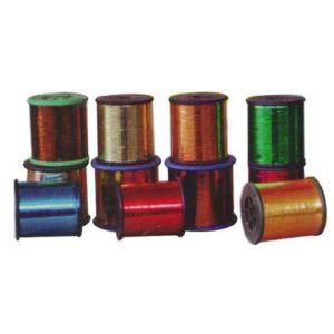Multicolor Embroidery Zari Thread