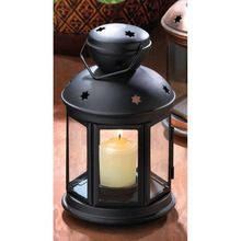 Black Colonial Candle Holder