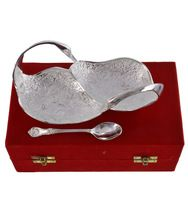 Silver Plated Swan Shape Bowl