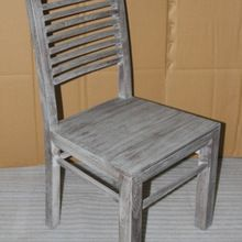Vintage and Industrial Modern design solid wooden Dining Chair