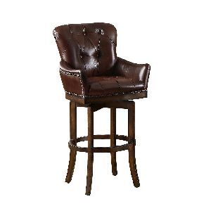 Vintage style Leather Bar Chair