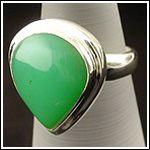 Assorted Chrysoprase Gemstone Ring