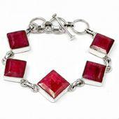 Sterling Silver Ruby Jewellery